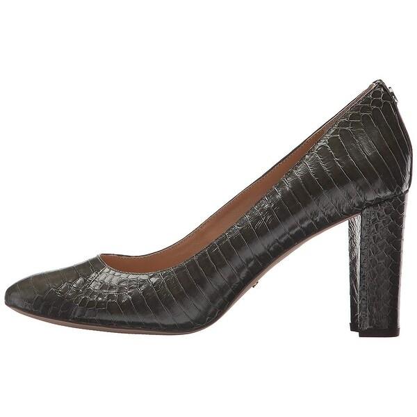 4bb9ed0deca Shop LAUREN by Ralph Lauren Womens maddie-pm-drs Snakeskin Closed ...