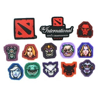 DOTA 2 Velcro Patch: Pack of 13