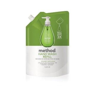 Method 01293 Juicy Pear Scent Gel Hand Wash, 34 Oz