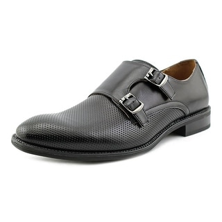 Robert Wayne Arnold Men  Round Toe Synthetic Black Loafer