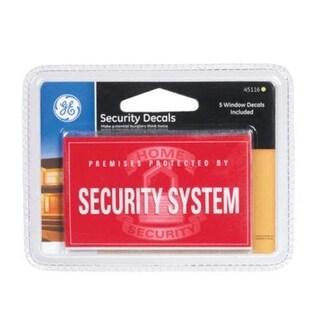 GE 45116 Security Decals