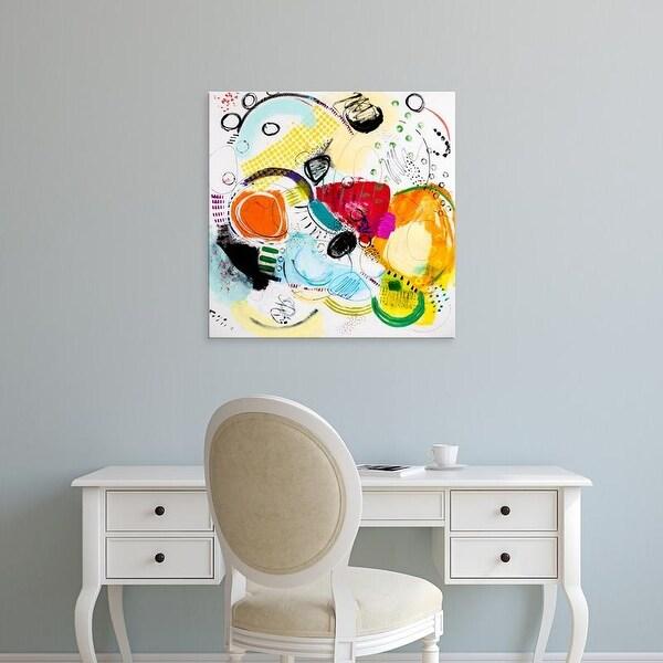 Easy Art Prints Serene Greene's 'Silver Lake Series #2' Premium Canvas Art