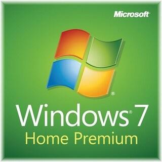 Microsoft Windows 7 Home Premium System Builder OEM 32-Bit SP1