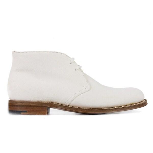 white desert boots