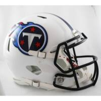 Tennessee Titans Helmet Riddell Authentic Full Size Speed Style
