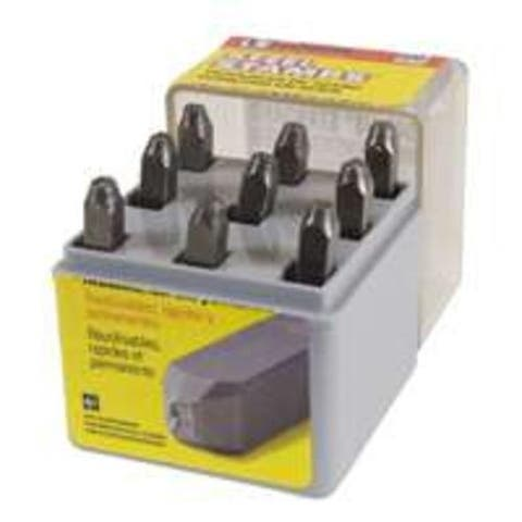 "CH Hanson 20541 Number Steel Stamp, 1/8"", Set 9"