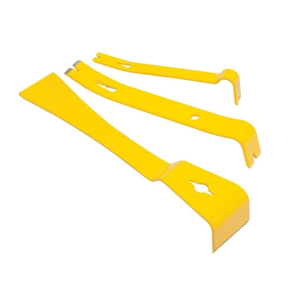 Shop Stanley STHT55135 12 10 And 8 Pry Bar Set Yellow