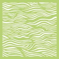 "Kaisercraft Designer Template 6""X6""-Ripples"