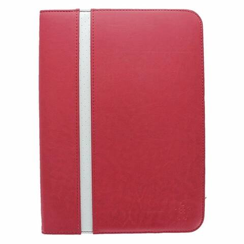 Belkin Stripe Cover Case w/ Stand for Samsung Galaxy Tab 3 10.1 Red