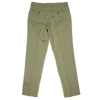 The Men's Store Mens Twill Classic Fit Chino Pants