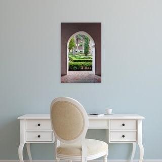 Easy Art Prints Rob Tilley's 'Nasrid Palace' Premium Canvas Art
