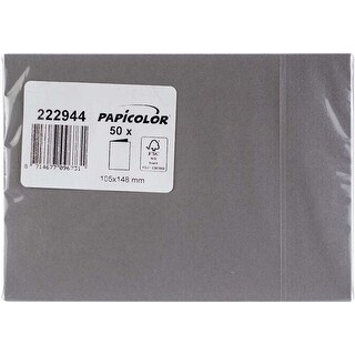 Mouse Grey - Papicolor A6 Folded Cards 50/Pkg