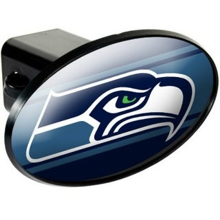 Great American Products Seattle Seahawks Oval Trailer Hitch Cover Oval Trailer Hitch Cover