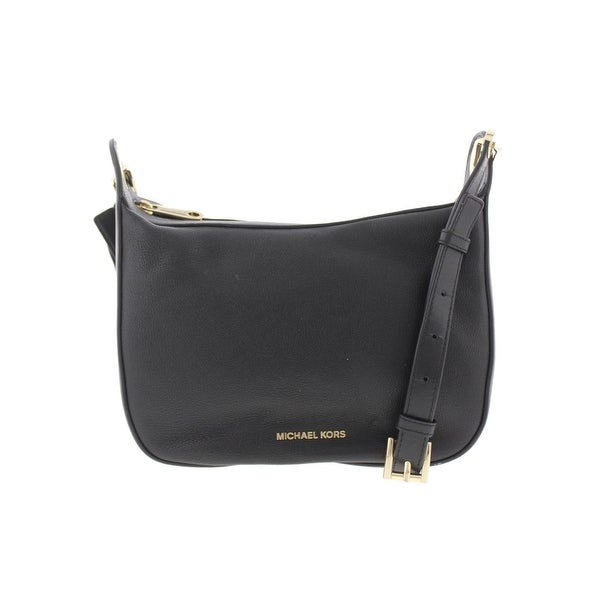 f6f1327f40 MICHAEL Michael Kors Womens Raven Messenger Handbag Leather Grommet - small