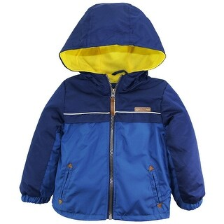 iXtreme Toddler Boys Fleece Lined Jacket Windbreaker Hooded Spring Coat