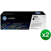 HP 305X Black Original LaserJet Toner Cartridge For US Government (CE410AG)(2-Pack)