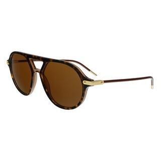 Dolce & Gabbana DG4343 318573 Havana Round Sunglasses - No Size