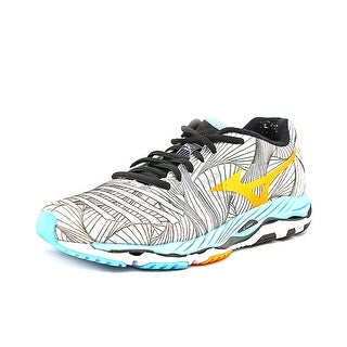 Mizuno Wave Paradoxb Women N/S Round Toe Canvas Gray Sneakers