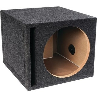 atrend ATRE12SVB Atrend-Bbox E12sv B Box Series Single Vented Subwoofer Enclosure (12)