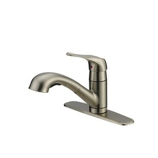 ProFlo PFXC6011 Kitchen Faucet with Metal Lever Handle and Pullout Spray