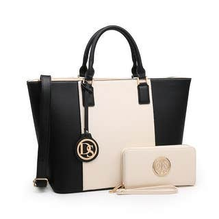 Deals on Dasein Women's Handbags Purses Large Tote Shoulder Bag