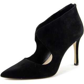 BCBGeneration Pailie-x Women Pointed Toe Suede Black Heels