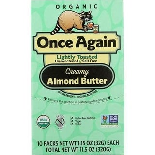 Once Again - Lightly Toasted Almond Butter ( 10 - 1.15 OZ)