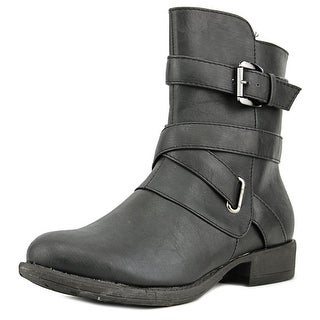 Bucco Capensis Newtty   Round Toe Synthetic  Ankle Boot