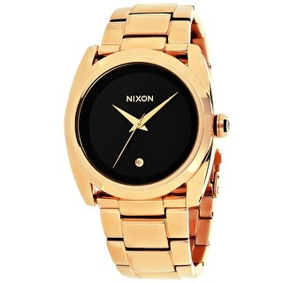 Nixon Women's Queenpin A935-2046 Black Dial watch