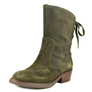 Nine West Krasher Women  Round Toe Suede  Boot