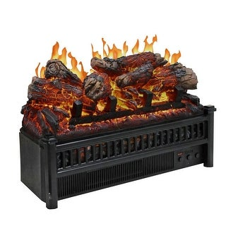 Electric Log Set With Heater Free Shipping Today