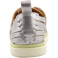 Lucky Brand Womens Missha Leather Low Top Lace Up Fashion Sneakers