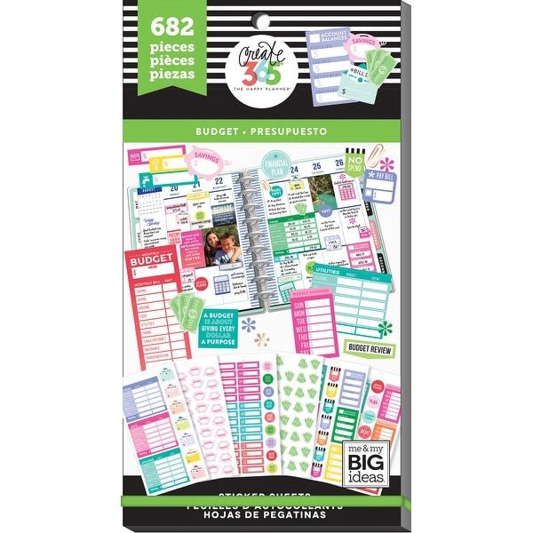 shop happy planner sticker value pack budget fill in 682 pkg free
