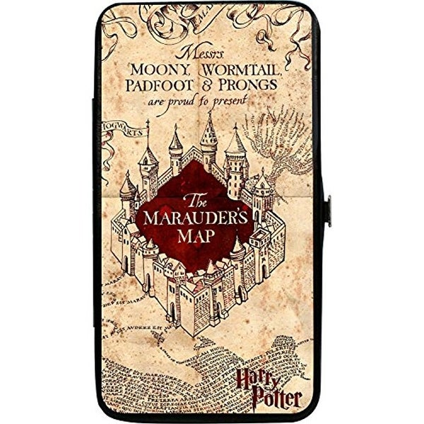 Harry Potter The Marauder's Map Hinged Wallet