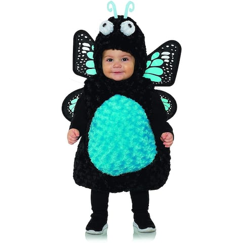 Blue Butterfly Belly Babies Toddler Costume