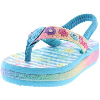 Skechers Beach Life Glitter Infant Sandals - 5