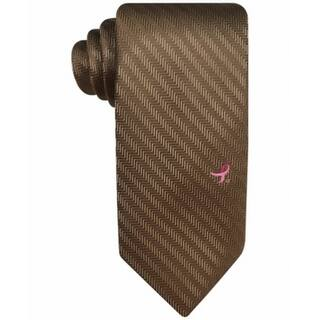 Susan G Komen NEW Taupe Brown Men's Breat Cancer Herringbone Neck Tie|https://ak1.ostkcdn.com/images/products/is/images/direct/e82657297e10828143686310d9cc6d0f450c0d38/Susan-G-Komen-NEW-Taupe-Brown-Men%27s-Breat-Cancer-Herringbone-Neck-Tie.jpg?impolicy=medium
