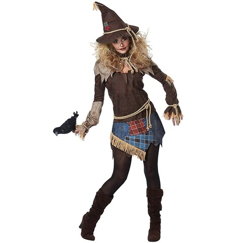 Creepy Scarecrow Adult Costume