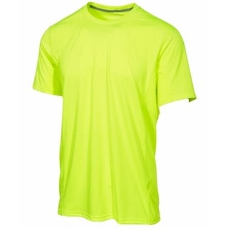 Ideology NEW Volt Yellow Mens Size XL Stretch Performance Shirts & Tops