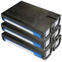 Replacement 700mAH P107 Battery For Panasonic BB-GT1502 / KX-TG2700S Phone Models (3 Pack)