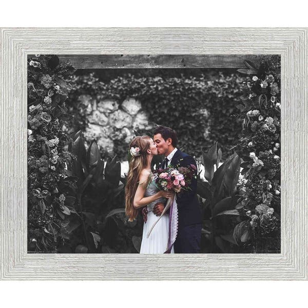 Image Gallery 1 3 17x20 White Barnwood Picture