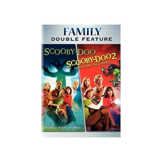 SCOOBY-DOO-MOVIE/SCOOBY-DOO 2-MONSTERS UNLEASHED (DVD/DBFE)
