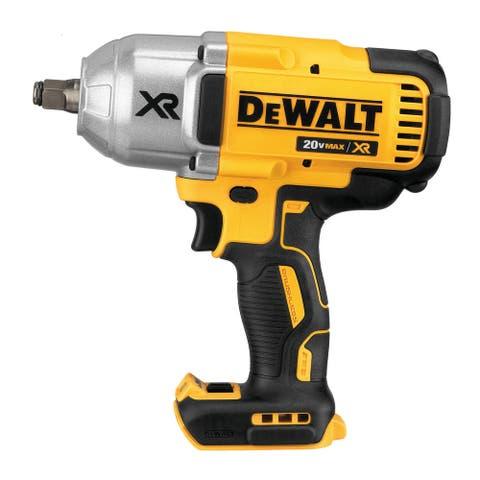 Dewalt 20V MAX XR Brushless 1/2-In Impact Wrench with Hog Ring Anvil