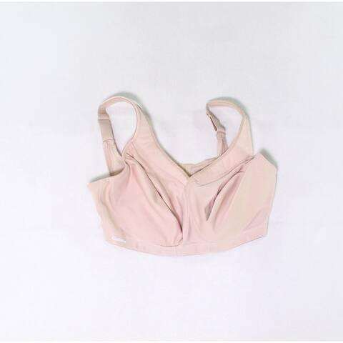 Glamorise Women's Bra Nude Beige Size 36F Underwire Full Coverage