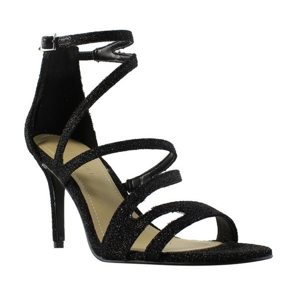 3eb0206e305 Shop Marc Fisher Womens Blaize Black Strappy Heels Size 7 - Free Shipping  On Orders Over  45 - Overstock - 22899689