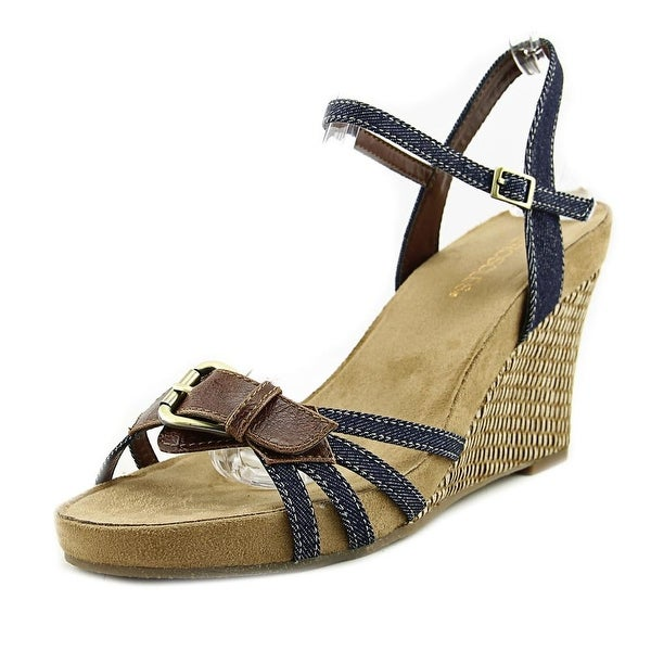 Aerosoles Plush Around Women Denim Combo Sandals