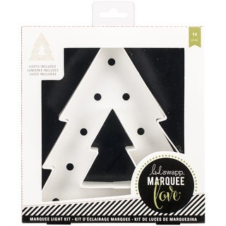 "Heidi Swapp Marquee Love Paper Shape Kit-Tree 8""X4.25"""