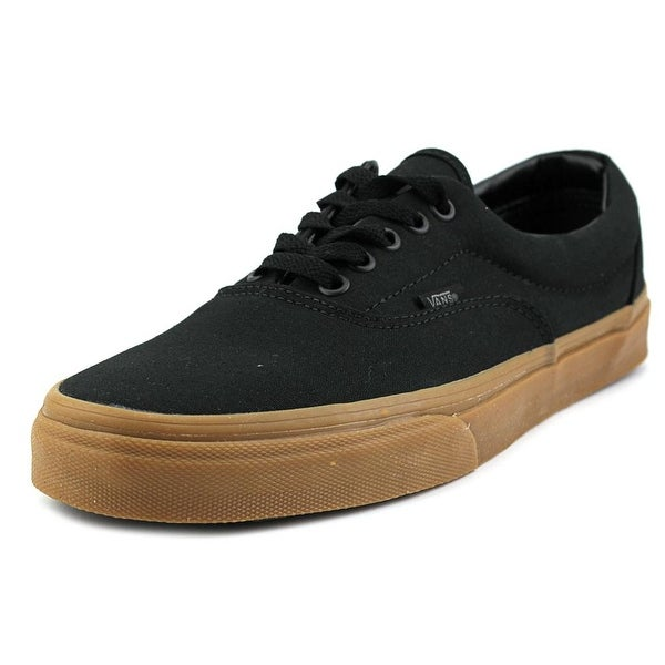 Vans Era Men Round Toe Canvas Black Sneakers