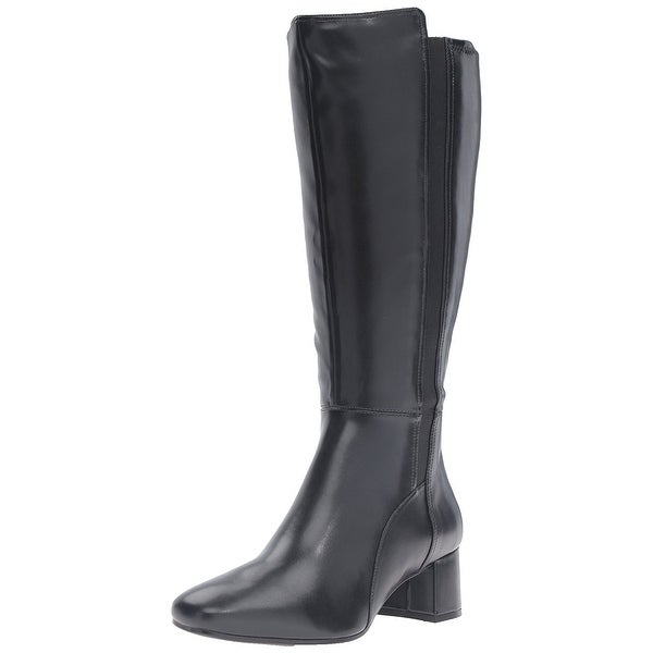 Naturalizer Women's Naples Wide Calf Riding Boot