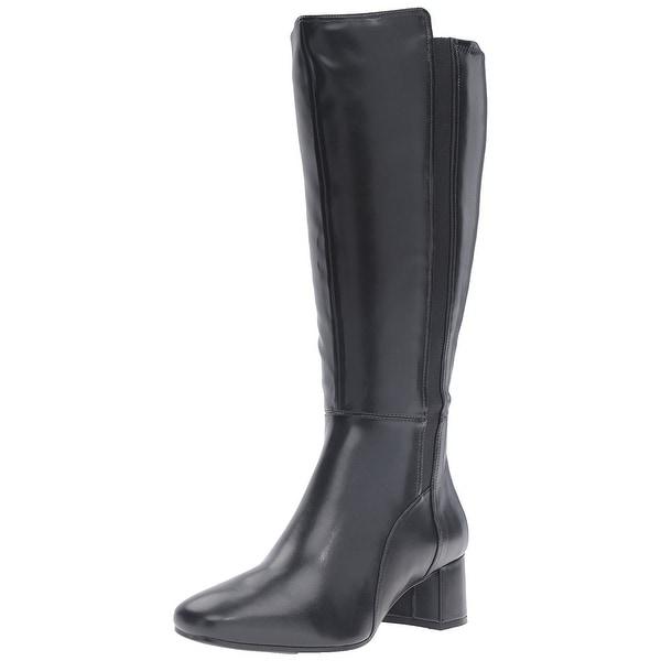 Naturalizer Women's Naples Wide Calf Riding Boot